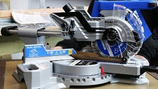 BEST Cordless 7-1/4'' Dual Bevel Sliding Compound Miter Saw For The MONEY!