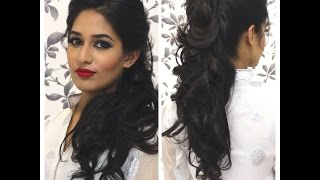 TUTORIAL: Indian Party Hairstyle