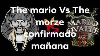 THE MARIO VS LA MORSA APLASTA CRANEOS  EPICIDAD EXTREMA AGE OF EMPIRES 2