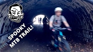 Mountain Bike Trails in Spooky Abandoned Safari Theme Park - Jungle Habitat