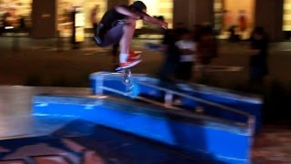 Ilin Kolevski destroys run at the Dynamics Best Trick Contest (Business bay skatepark Dubai,UAE)