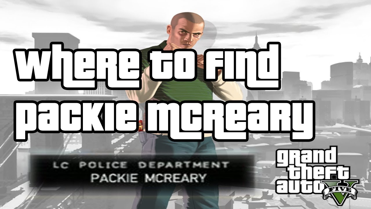 where do you meet packie in gta 5