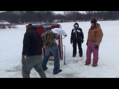 Ice Fishing Pennsylvania 2011