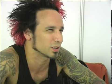 Stone Sour 2006 interview - Roy Mayorga (part 3)