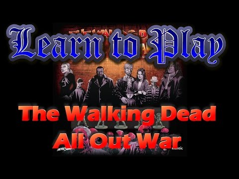 Learn to Play:  The Walking Dead: All Out War
