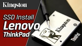 How to Install an SSD in Lenovo Thinkpad (T410/T420/T430) - Kingston Technology
