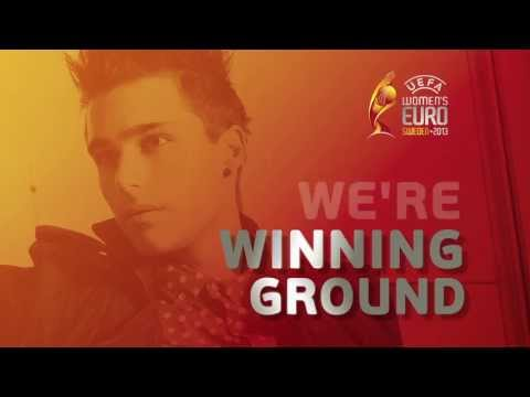 Eric Saade - Winning Ground (The Official Song of UEFA Women's Euro 2013) [Official Lyric Video]