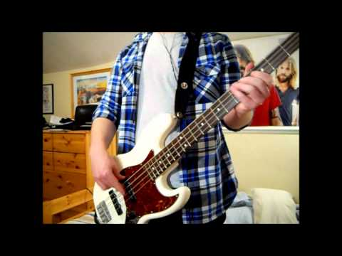 RHCP - The Adventures of Rain Dance Maggie [Bass Cover]