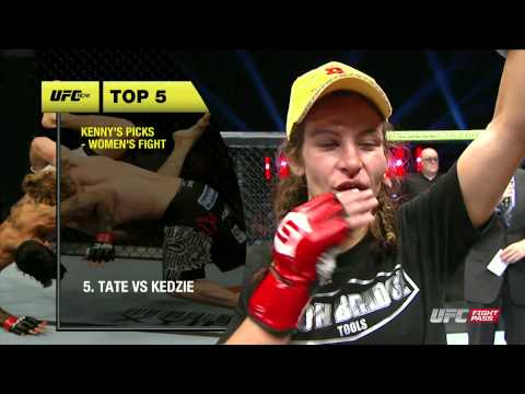 UFC Now 138: Top 5 Fights in Women's MMA History