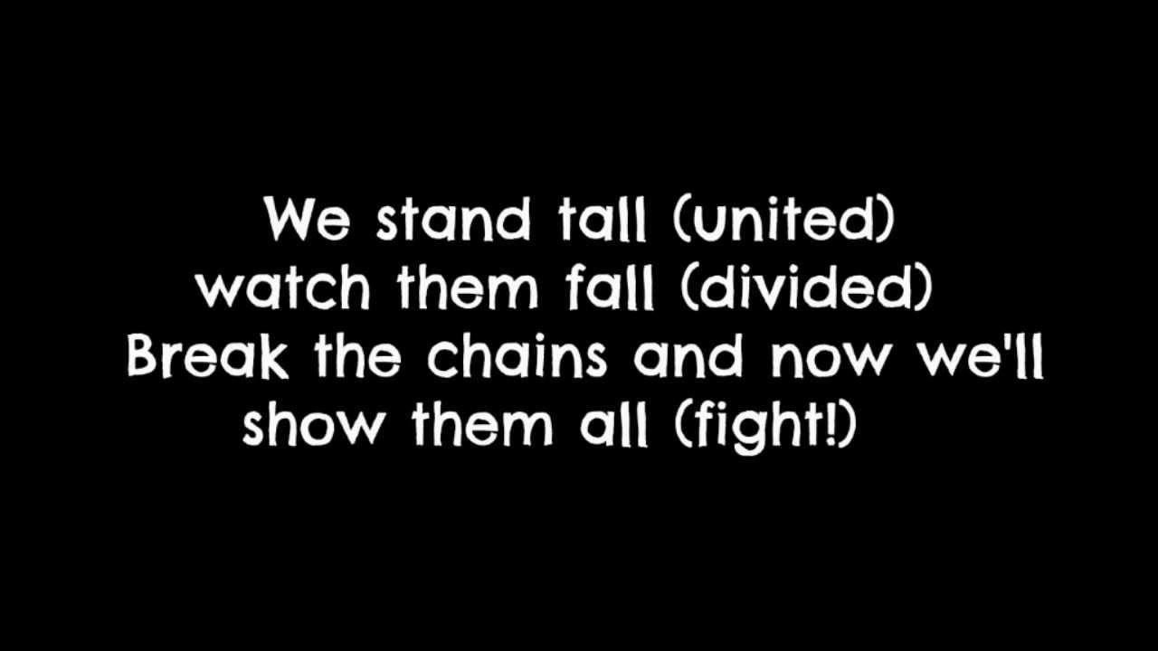 set the world on fire bvb | My favorite song lyrics