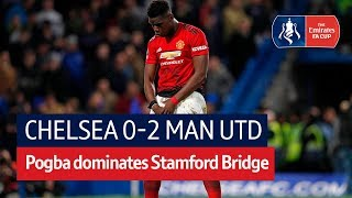 Chelsea vs Manchester United (0-2) | Emirates FA Cup Highlights