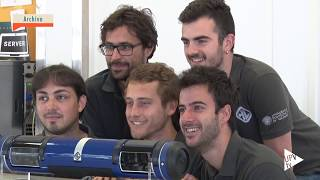 Inauguración túnel Hyperloop UPV - Noticia @UPVTV, 10-10-2017