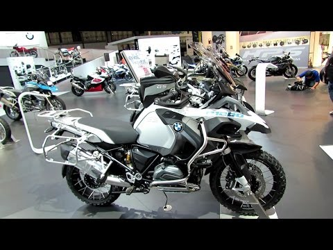 2014 BMW R1200GS Adventure Walkaround-Debut at 2013 EICMA Milano Motorcycle Exhibition