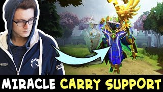 Miracle Rubick — he can CARRY even playing SUPPORT