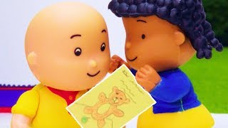 🤐 Caillou Gets a Secret Letter 💌 | Funny Animated Kids show | Caillou Stop Motion