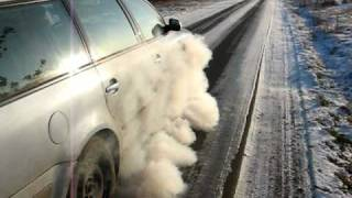 TDI Power !!! Winter Burnout  VW Passat Teil 2