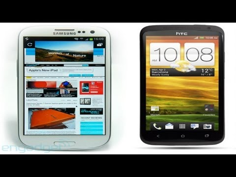 Samsung Galaxy S3 vs. HTC One X - Full Specs Comparison