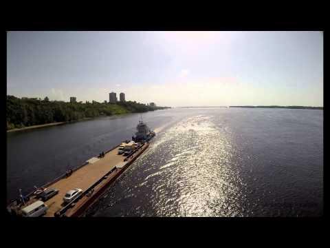 Река Волга в районе спуска л.Шмидта #Самара #Samara #Russia
