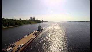 Река Волга в районе спуска л.Шмидта г. Самара / Samara