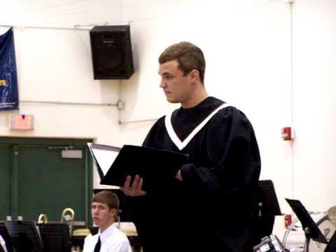 LIVING WORD LUTHERAN HIGH SCHOOL CONCERT, SOLOIST:  MICHAEL MAZIARKA - 05/16/2010