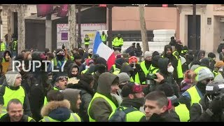 LIVE: Anti-Macron demonstration at the Elysee - PART 2