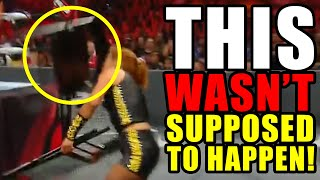 These 11 Moments Were NOT Supposed to Happen At WWE Extreme Rules 2019 (Blunders)