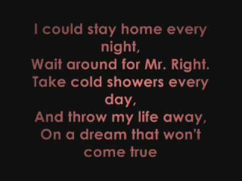 there are worse things i could do - With Lyrics!!