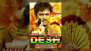 Monica - MERA DESH | Full Movie | Hindi Film | Arjun | Monica Bedi | Prakash Raj