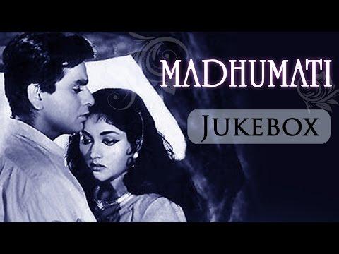 Madhumati (1958)- All Songs Jukebox - Dilip Kumar - Vyjayantimala - Mukesh - Lata Mangeshkar video
