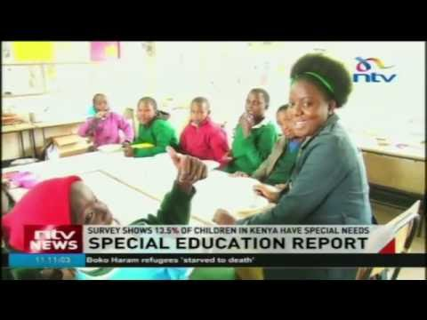 Survey shows 13.5% of children in Kenya have special needs