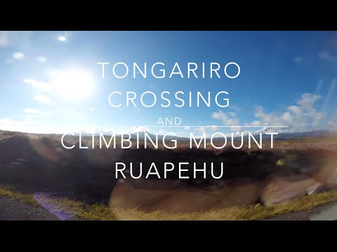 Alice in New Zealand #19 - Tongariro Alpine Crossing