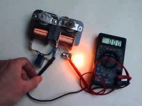 Магнитно индукционный генератор свободной энергии