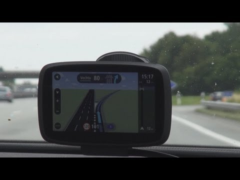 TomTom GO 500 Europe - Praxistest. HD Traffic. Fahrspurassistent. Karten. Funktionen - 2013 HD