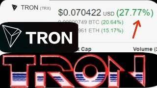 This June TRON (TRX) Decentralized Crypto Technology Will Be Big