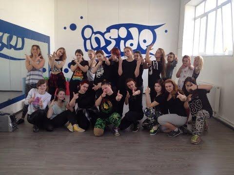 Открытый урок по Dancehall | Inside dance studio | Смоленск