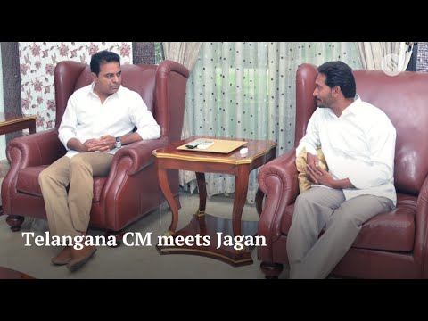 Telangana CM KCR meets YSR Congress' Jagan Reddy to discuss federal front