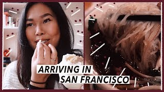 Arriving in San Francisco from London | Food Travel Vlog