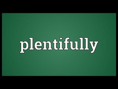 Header of plentifully