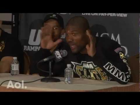 Rampage Jackson UFC 130 Post-Fight Press Conference Highlights
