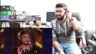 Angelica Hale 11-Year-Old Singer STUNS With Impossible America's Got Talent: The Champions Reaction!