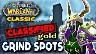 2 Classified Vanilla Grind Spots - A Classic WoW Rags to Riches