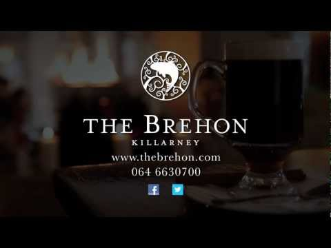 The Brehon, Luxury Hotel & Spa in Killarney Ireland.