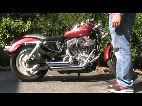 Harley Davidson Sportster 883XL Custom Video