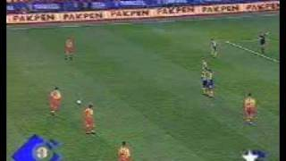 Galatasaray   Hagi   Freekick, unbelievable 1999
