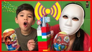 Mask Master Twin Telepathy Challenge For Ryan's World Toy Pretend Play