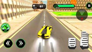 Juegos de Carros Para Niños - Flying Robot Car - Juegos de Autos Deportivos