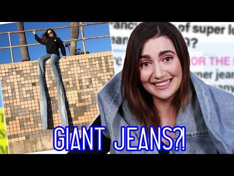 I Wore 9-Foot-Long Extendo Jeans For A Day