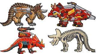 Dino Robot Tricera Corps - Full Game Play