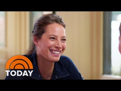 For #WomanCrushWednesday Christy Turlington Works To Make Childbirth Safe Around The World | TODAY