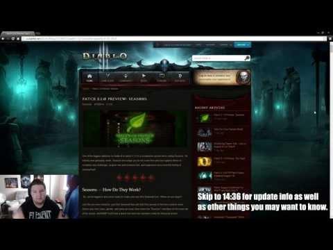 Let's Talk Diablo: Episode #6: Patch 2.1 Preview: Seasons